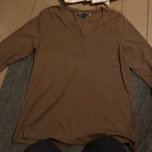 Women's casual button down long sleeve size XL NEW